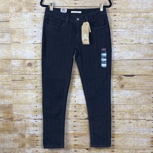 LEVI'S 535 SUPPER SKINNY ANKLE NWT BLACK & GRAY